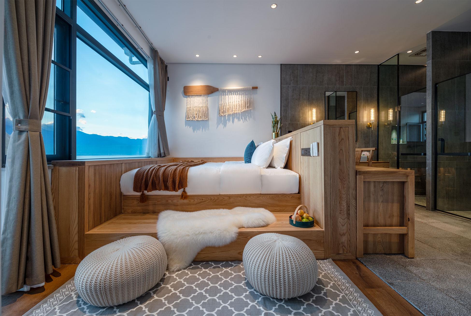 大理缦山一色海景民宿空间设计|长空创作
