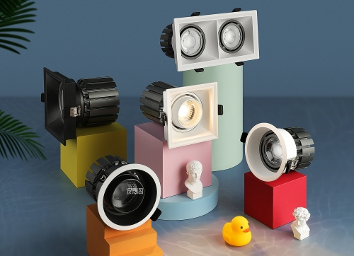 马卡龙配色商业照明 x 详情页设计