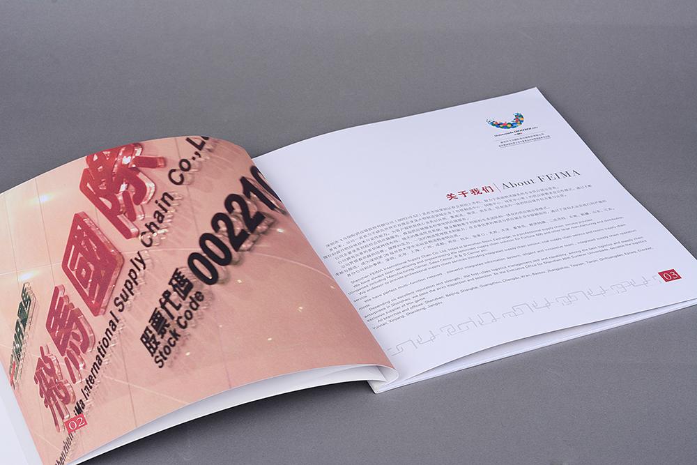 深圳飞马国际供应链股份品牌形象画册设计