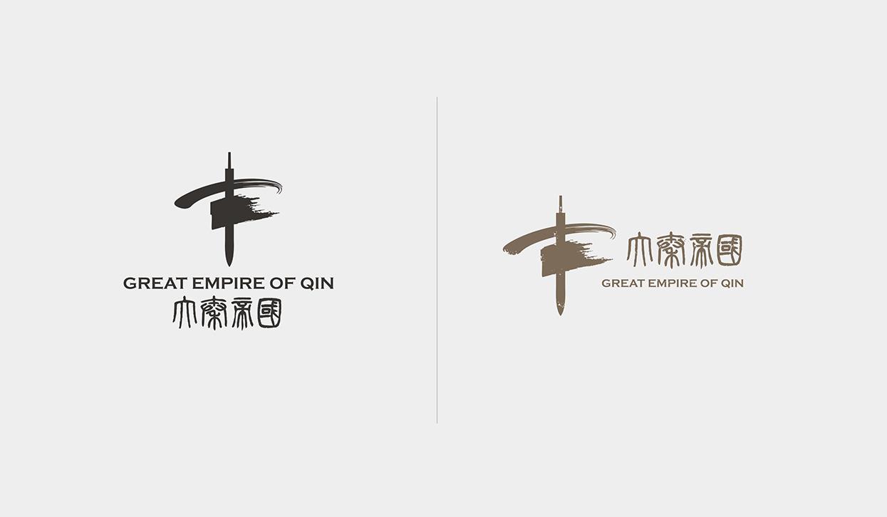 大秦帝国影视类品牌形象vi设计 × 小小山设计