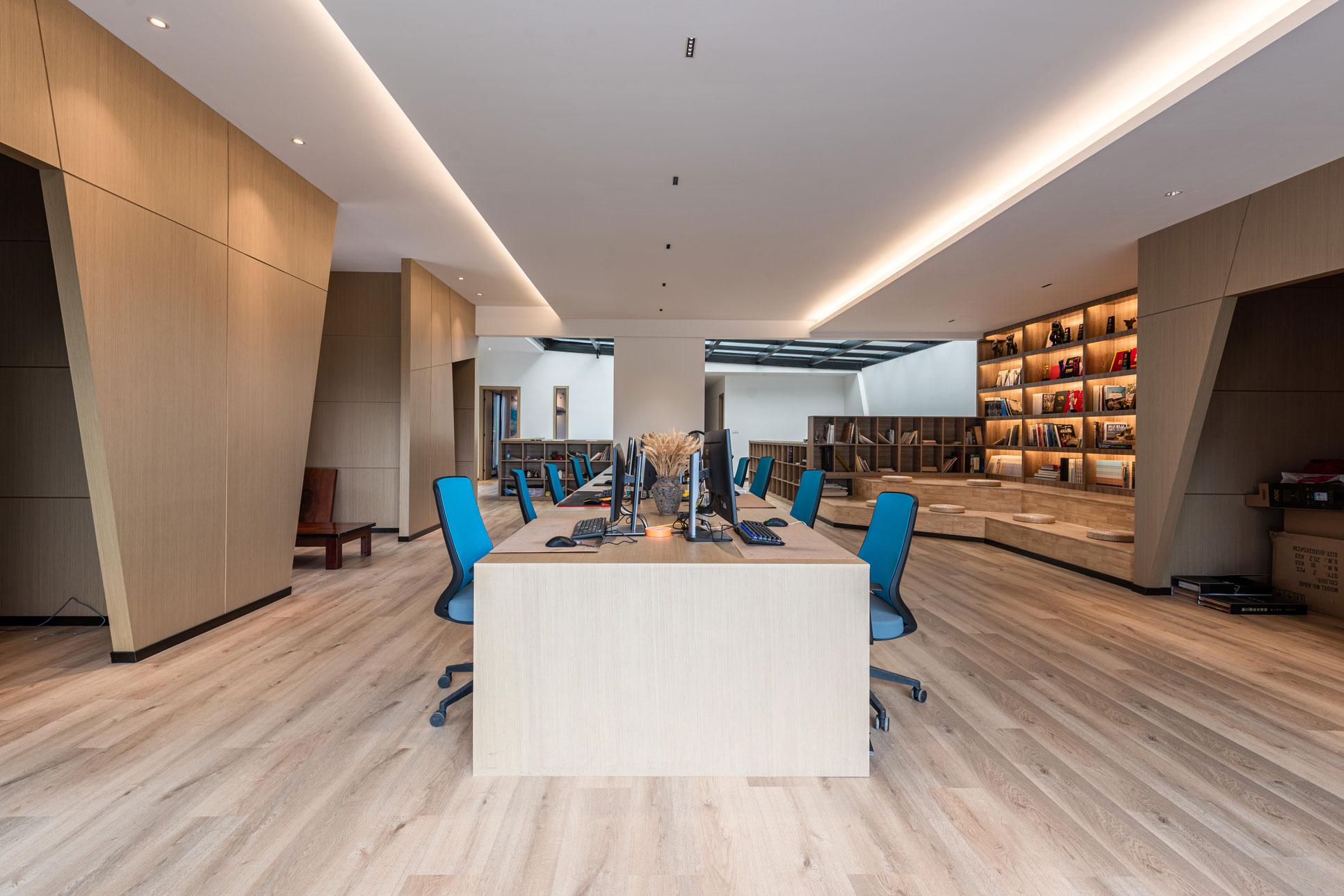 长空创作办公楼建筑空间设计|长空创作