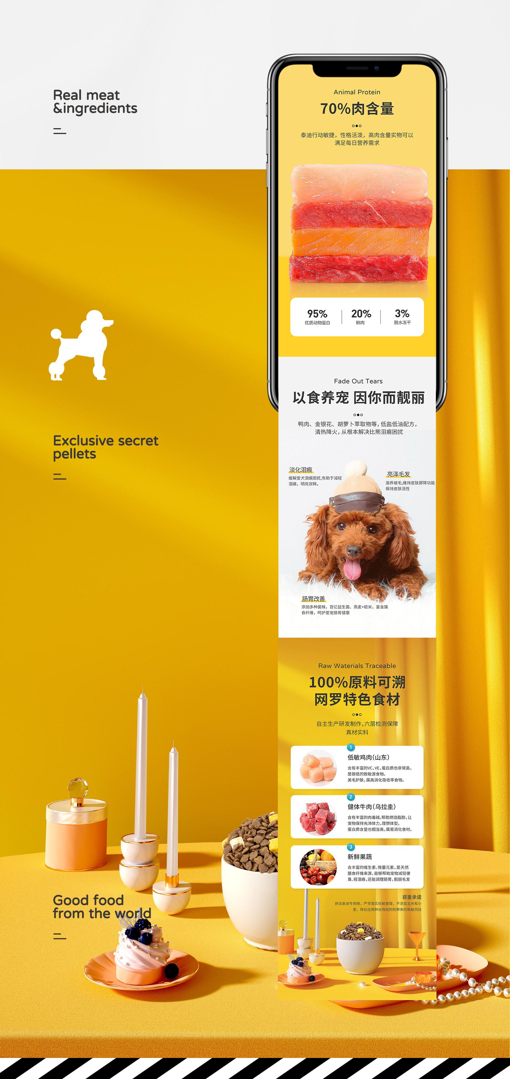 详情页设计——宠物主粮