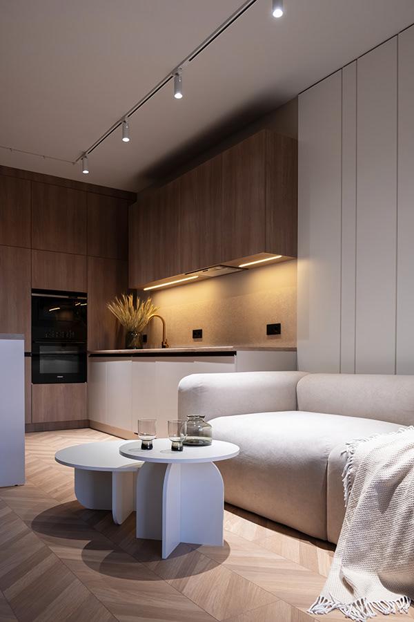 北欧风格化繁为简:43.5²现代简约气息温馨小家