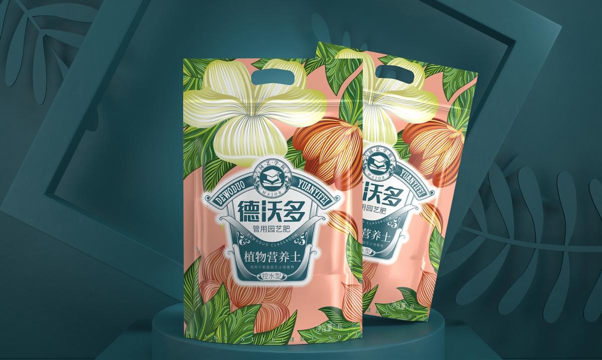 德沃多园艺肥—徐桂亮品牌设计