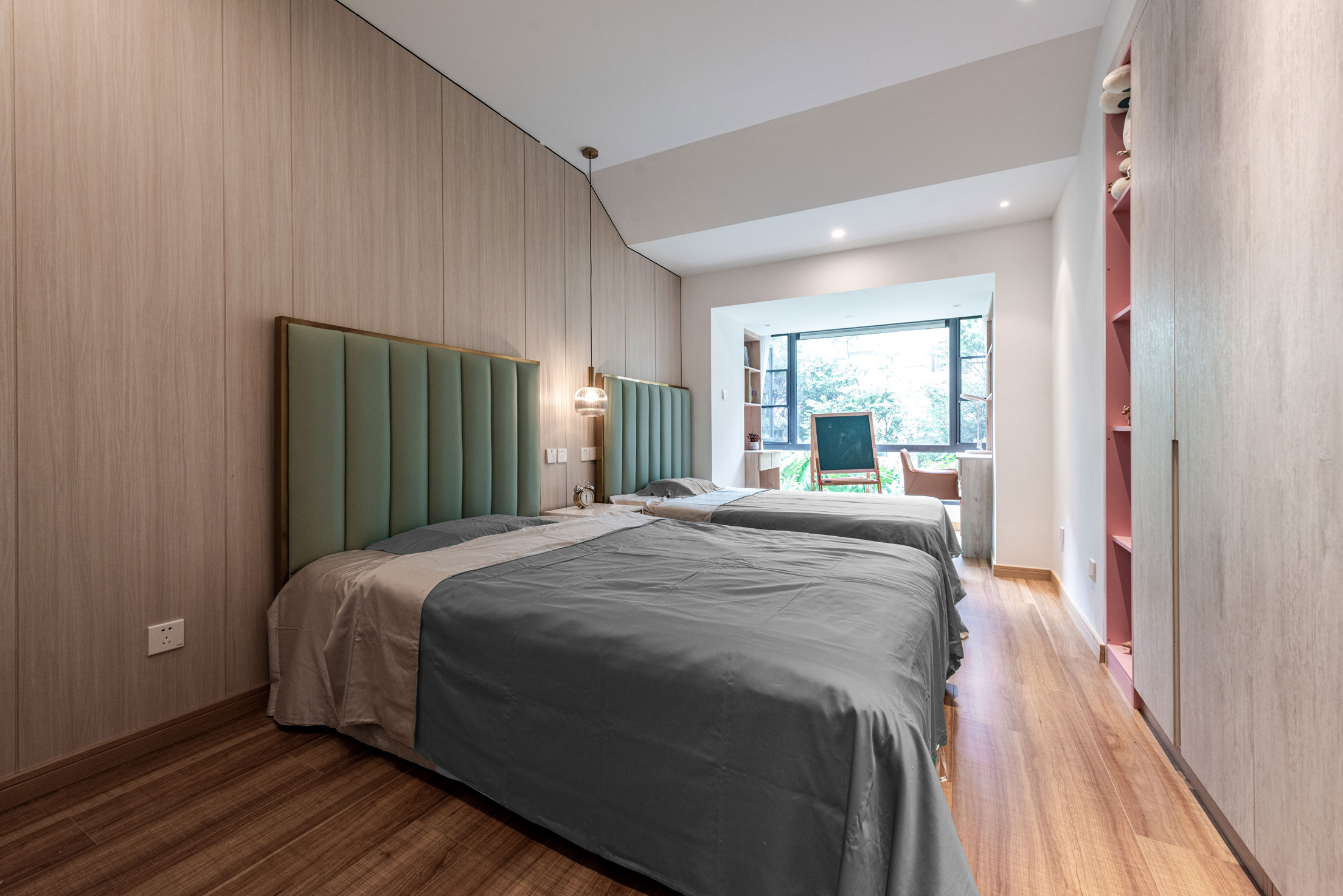 淏园住宅空间设计 · 在家中感知四季变换丨长空创作