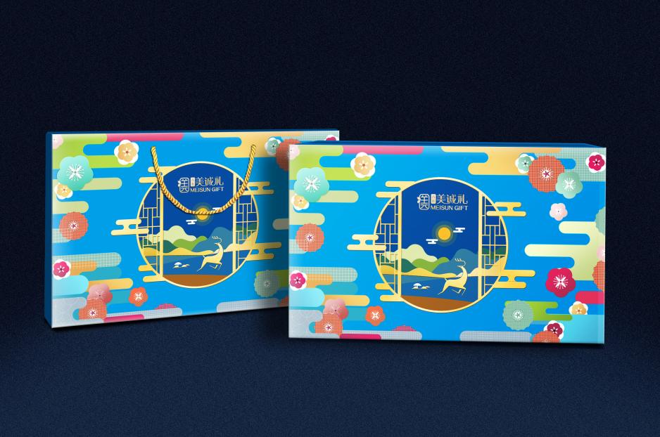 香港美诚礼包装设计