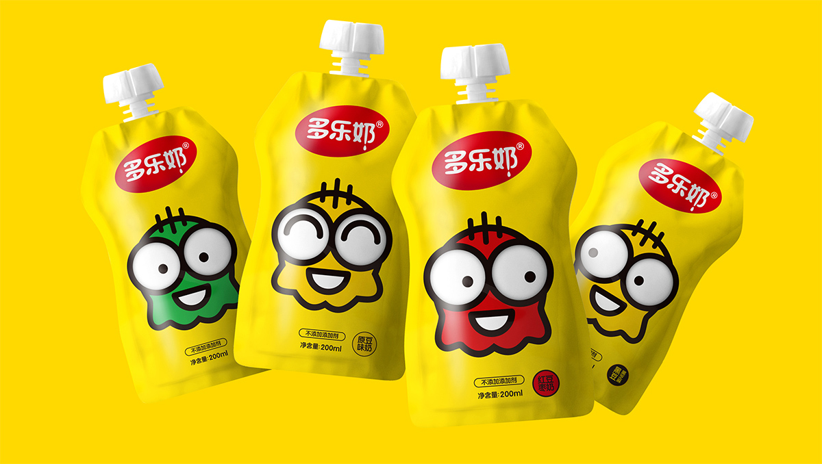 多乐奶包装设计 | 用好品牌名称,打造品牌力