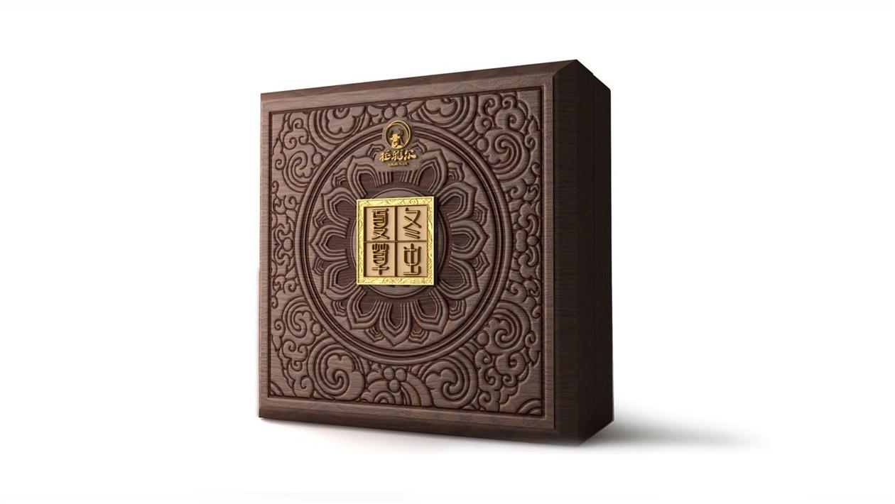 冬虫夏草包装设计 虫草礼盒包装设计 那曲虫草包装设计