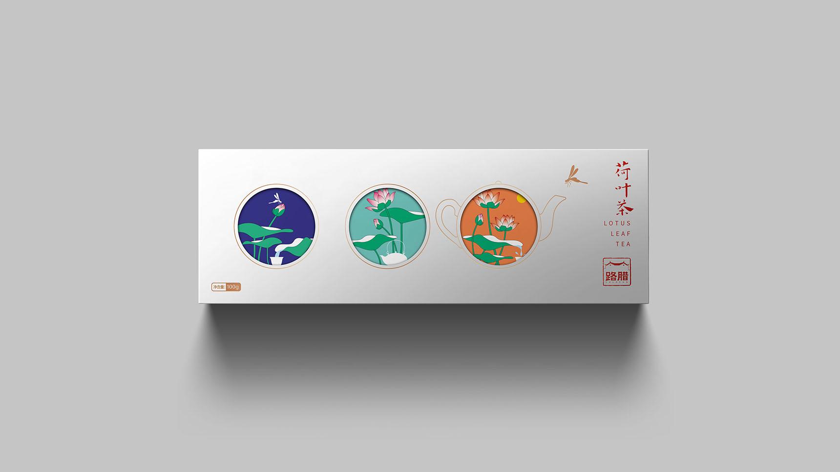 荷叶茶包装设计×枫桥包装设计