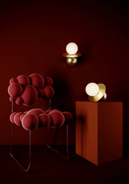 Reginaldi Table lamp and wall