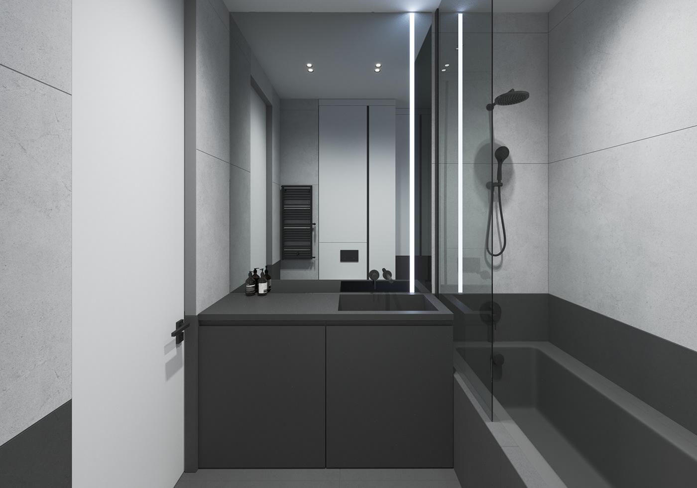NEEN DESIGN:一个58²现代化风格住宅