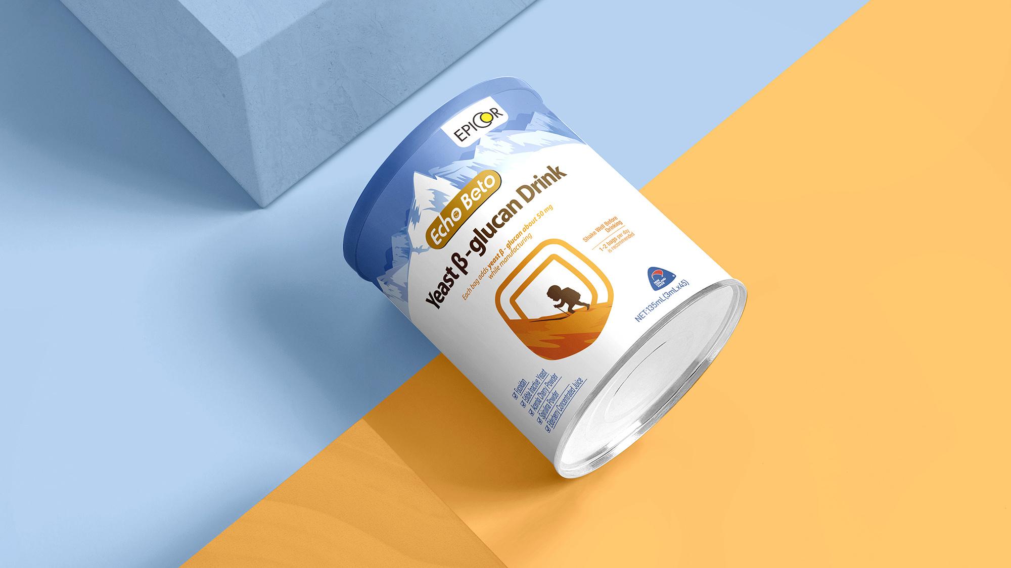 爱可贝托×唐风汉韵   新西兰进口婴幼儿营养品包装简约设计