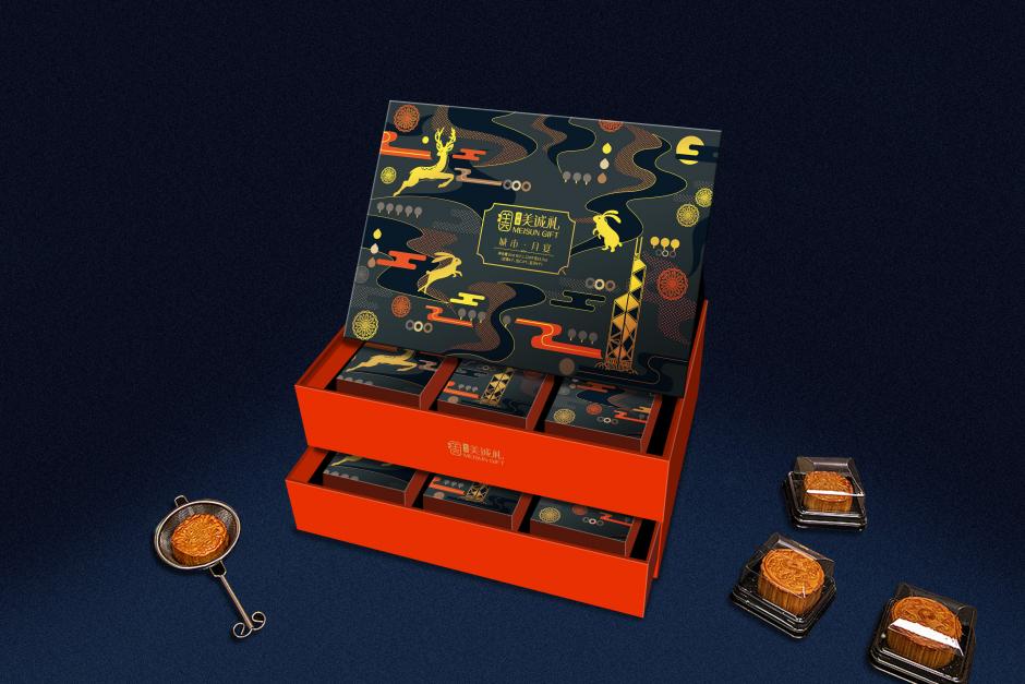 巨灵设计:香港美诚礼盒设计