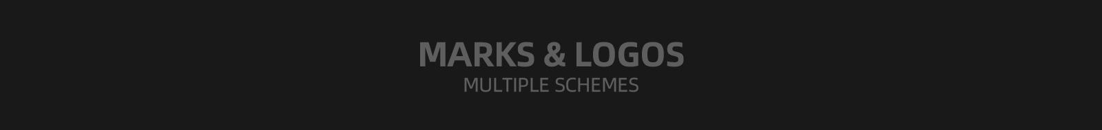 品牌logo多方案合集-趣创传播